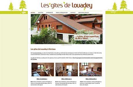 Les gîtes de Louadey